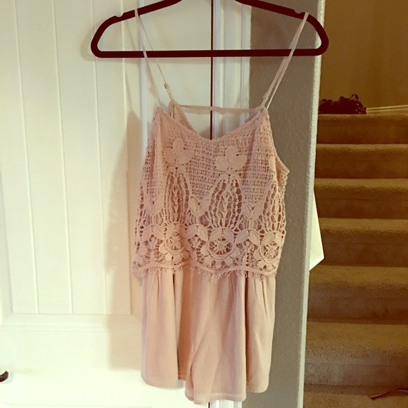 Dusty Pink American Eagle romper XS